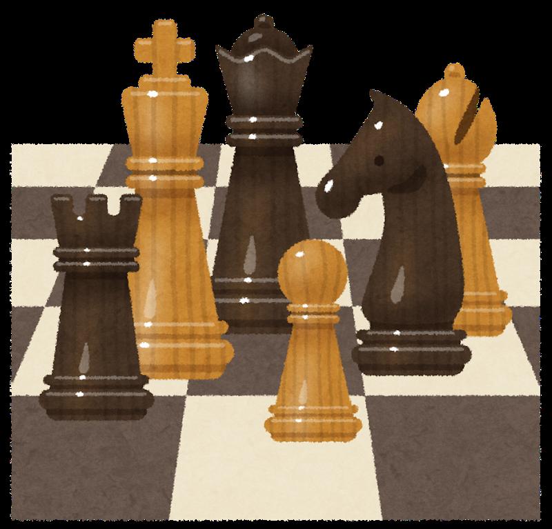 4月24日 チェス遊び
